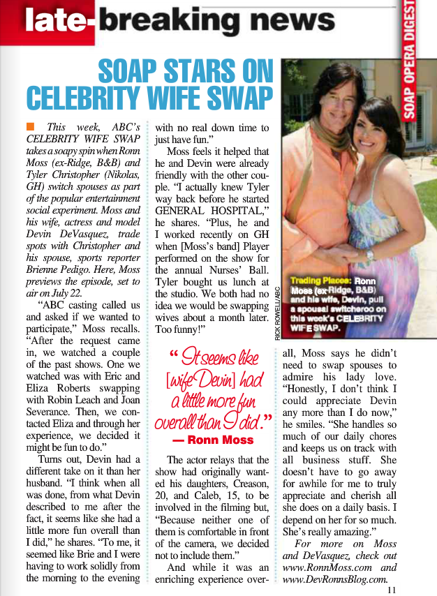 Soap Opera Digest July 2014