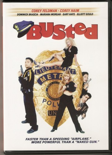 Busted DVD